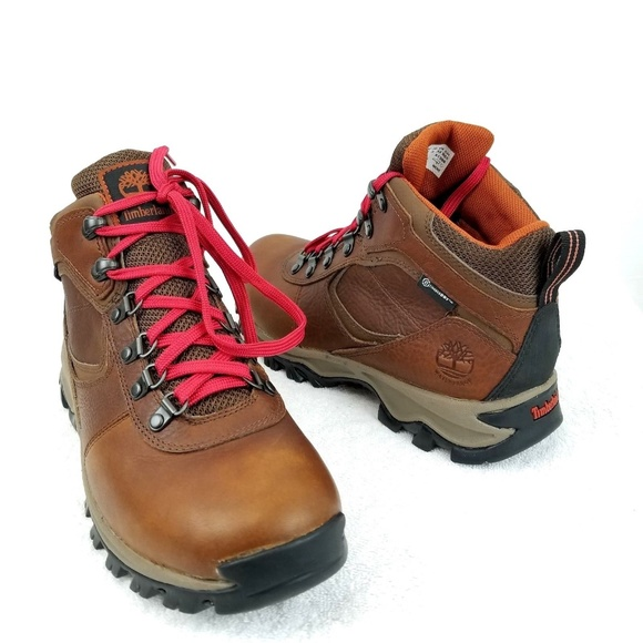 c9ef6a8f81f Timberland Men's Mt. Maddsen Mid Leather WP Boots